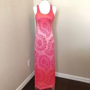 Gorgeous Tommy Bahama Sunset Paisley Maxi Dress 🌴